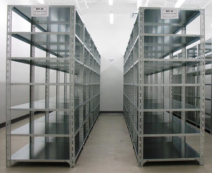 Buy Flexible Industrial Slotted Angle Shelving At T Racking