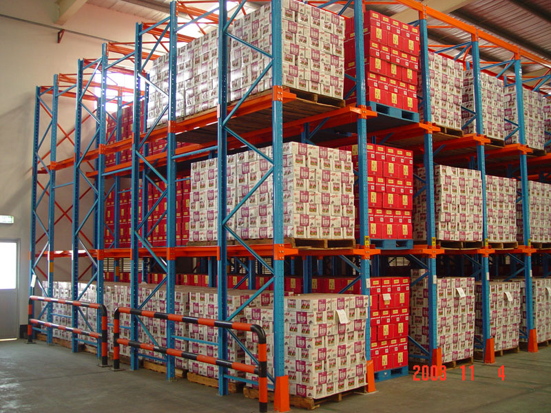 Warehouse Space Saving Drive In Racking System T Racking