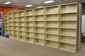 Rut Shelving, Rolled Upright Shelving, Rolled Post Shelving
