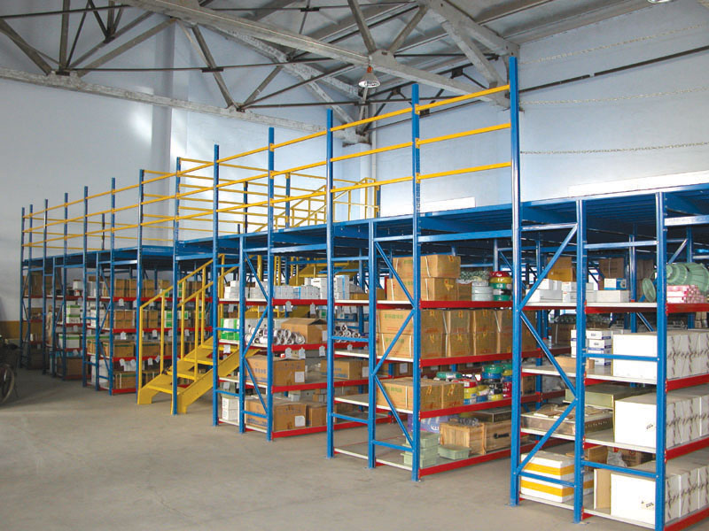 Mezzanine floor Warehouse racking layout software free
