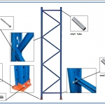 upright assembly-pallet rack