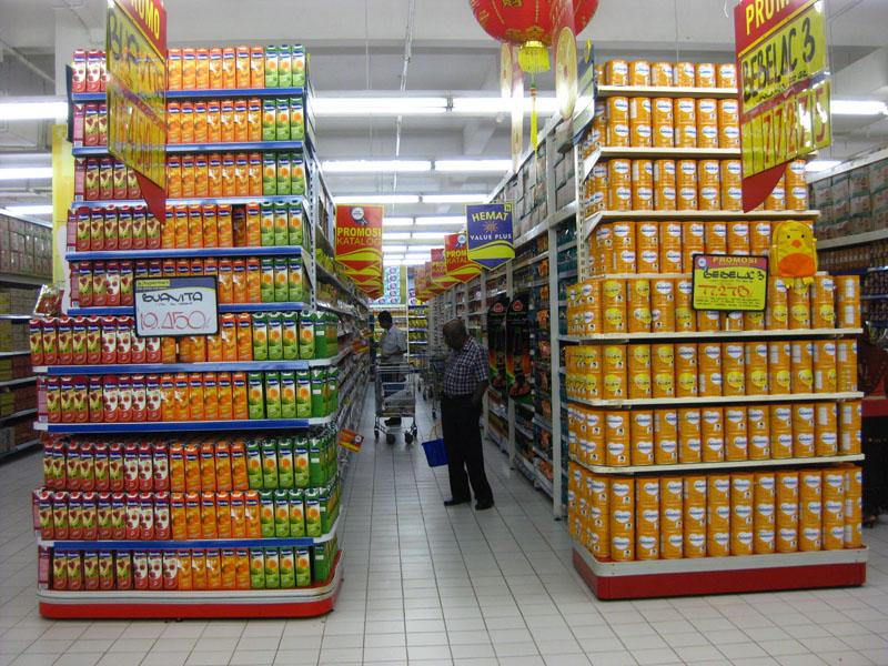 Africa Supermarket Shelving