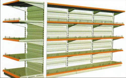 Hump Panel Shop Shelving