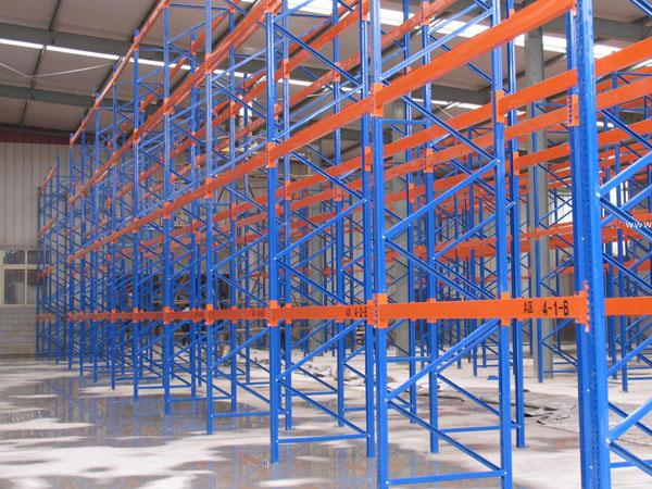 Storage pallet racking