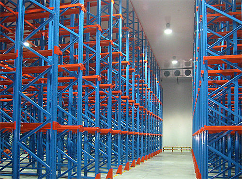 Cold chain racking