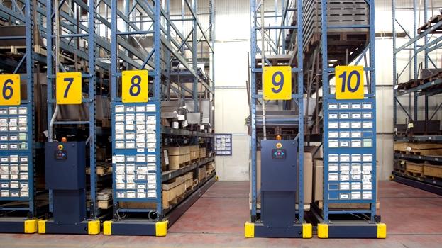 Warehousing storage racking