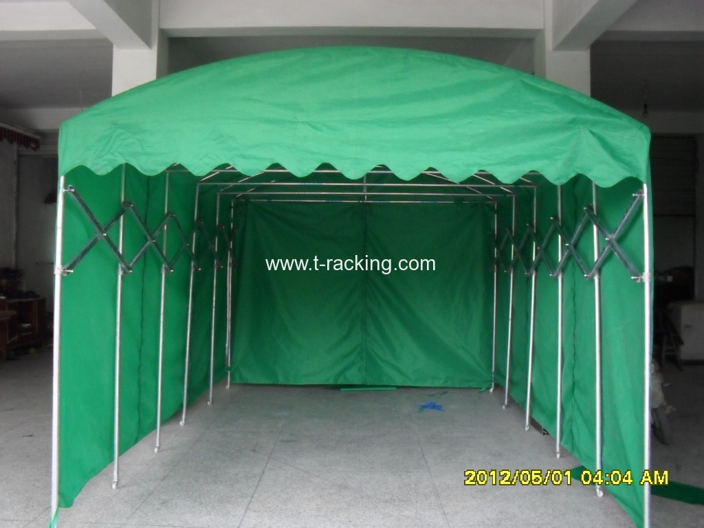 Push And Pull Foldable Vehicle Boat Tent