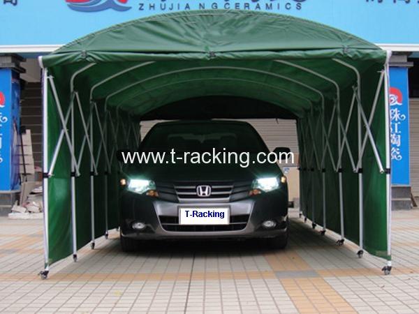 Push-Pull Vehicle Tent
