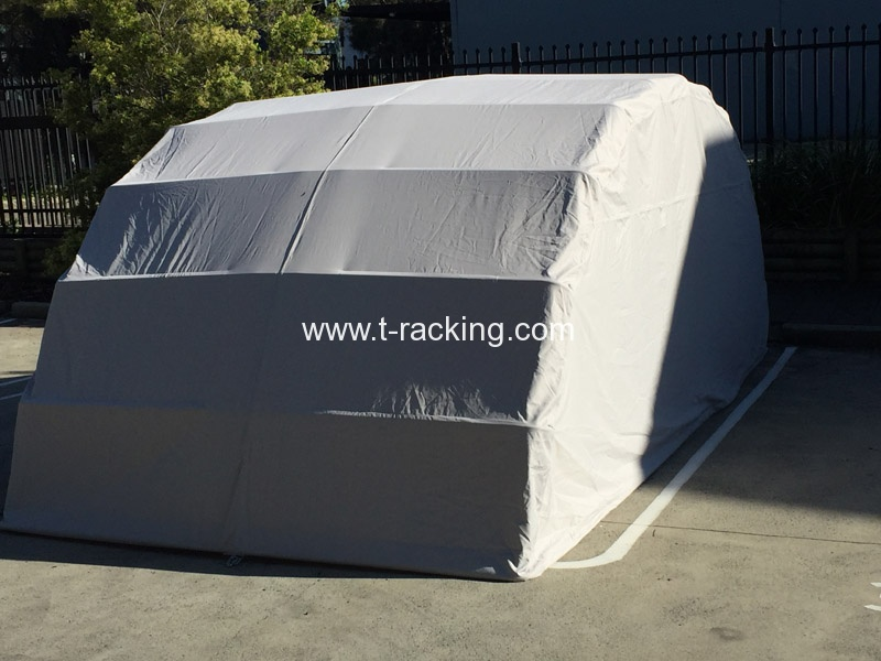 Temporary Shelters For Cars : Car tent