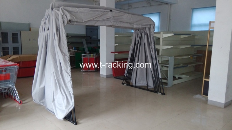 Foldable mobile car garage (17)