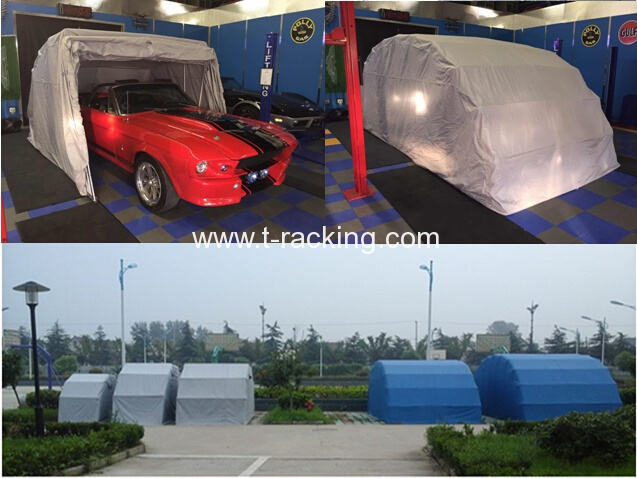 Folding garage car tent outdoor car tent folding car garage shelter mobile car tent cover car articulated flip over shelter foldable car cover ... & Portable Car Tent