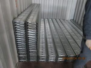 galvanized steel floor