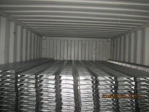 galvanized steel floor