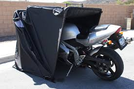 mobile motorcycle canopy