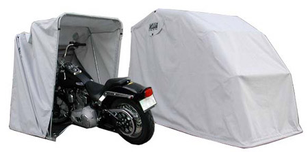 fabric motorcycle garage
