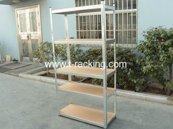 galvanized boltless shelving
