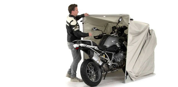 portable motorcycle shelter