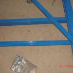 racking frame assemble step 6