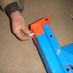 racking frame assemble step 8