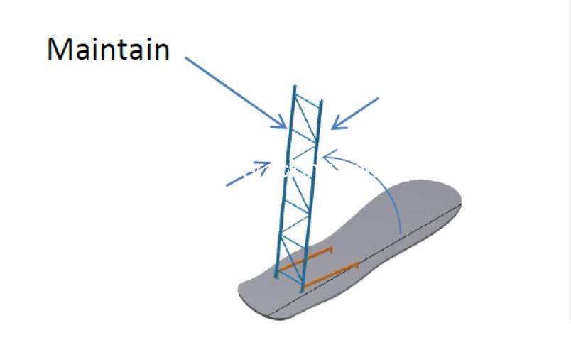 pallet racking frame assemble step-2