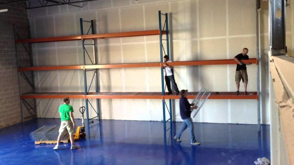 pallet racking assemble instruction