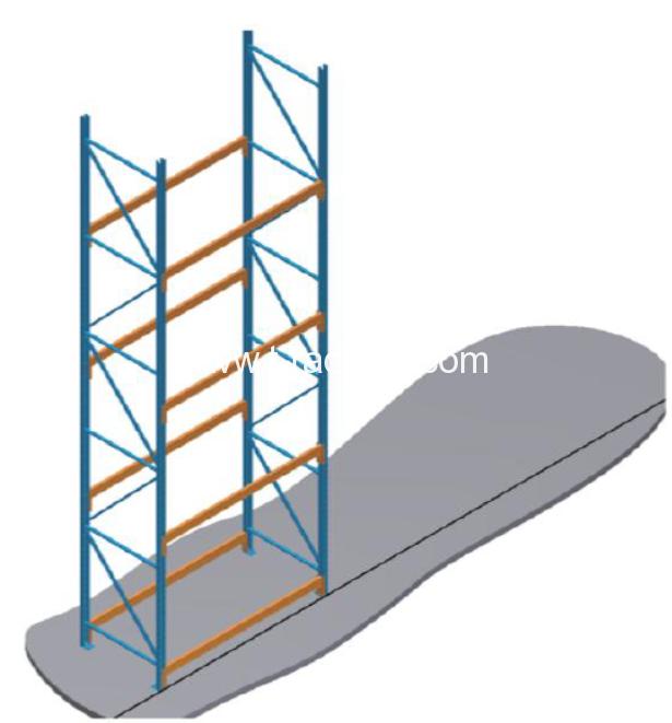 pallet racking assemble step 4