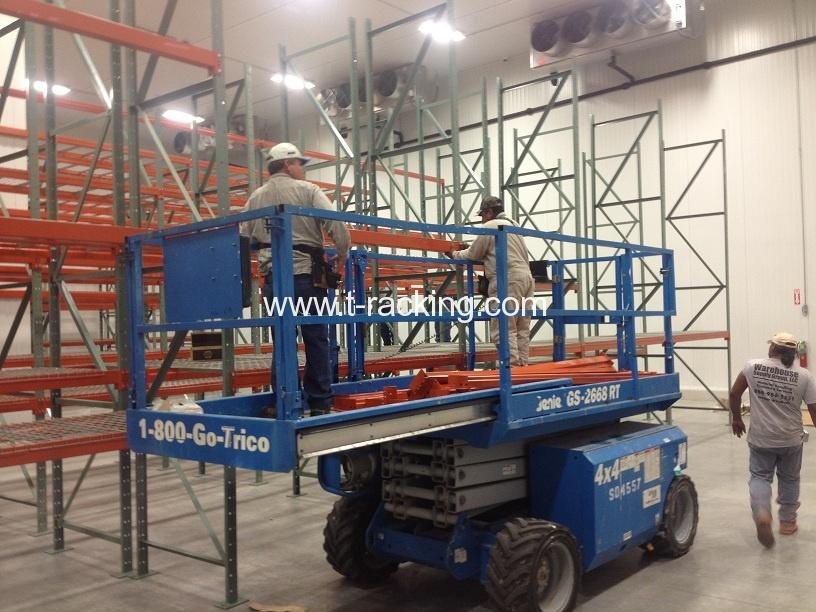 pallet racking installer job