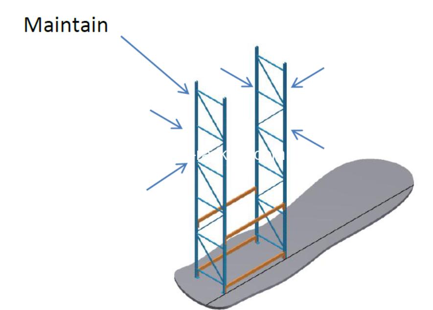 allet racking installtion step 3