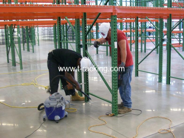 pallet racking installation guide